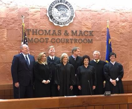 A unanimous decision by the NV Supreme Court… 7-0… in favor of Facebook page.
